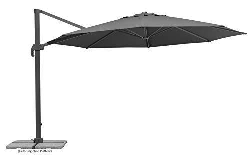 Schneider-Schirme Rhodos Grande Ampelschirm anthrazit ca. 400 cm Ø