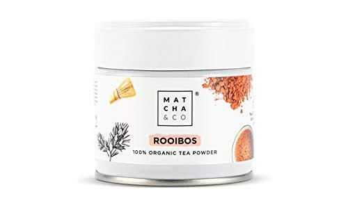 Rooibos 100% Ecológico   Té Rooibos Orgánico   Matcha & CO (30 g)