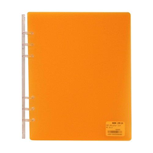 A5サイズ 6穴 CRF-6H システムバインダー(システム手帳バインダー)【オレンジ】 HS599