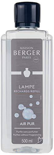 Lampe Berger 115012 Fragranza So Neutral, Liquido, Argento, 500 ml