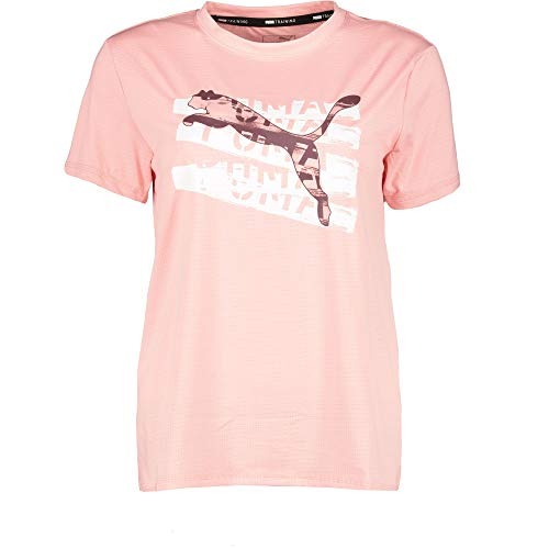 PUMA Mädchen Runtrain Tee G T-Shirt, Bridal Rose, 152