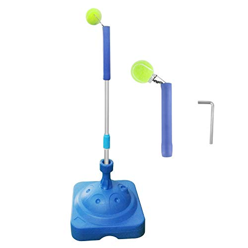 TRENDBOX Tennis Trainer Tennis Training Aid for Child and Adult - 2 Different Ball Holders
