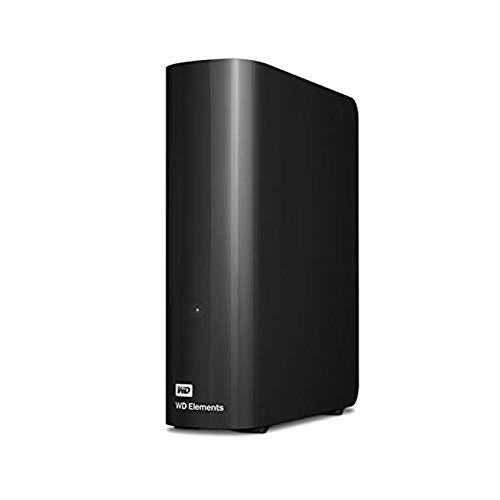 WD 14 TB Elements Desktop External Hard Drive - USB 3.0, Black Data Storage Computers & Accessories