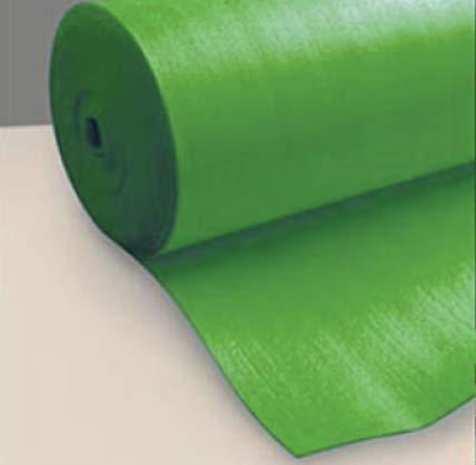 Sottopavimento per Pavimento Laminato Verde Isolante 3 Mm confezione da 50 mq