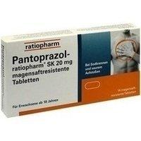Pantoprazol-ratiopharm® SK 20 mg magensaftresistente Tabletten 14 Stück