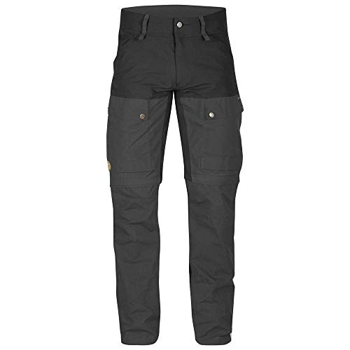 FJÄLLRÄVEN Keb Gaiter Trousers M Pantalon de sport Homme Black/Stone Grey FR : 3XL (Taille Fabricant : 56)