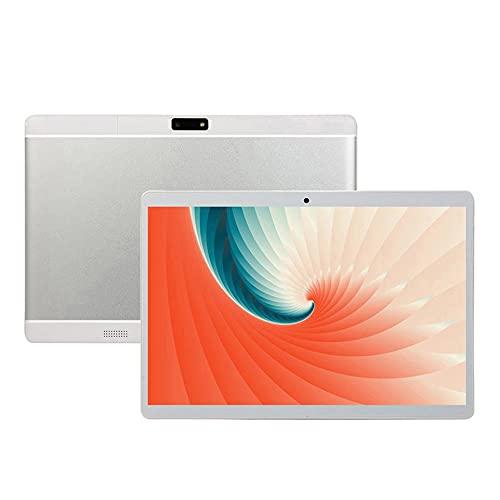 Richoyster Tableta PC Profesional de 10 Pulgadas 1GB RAM 16GB ROM WiFi Tarjetas SIM Dobles 3G Ligera Cámara Dual Quad Core Tablet Computadora