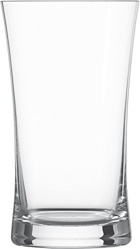 Schott Zwiesel Pint MIT MOUSSIERPUNKT Beer Basic V 0,6 LTR Bierglas, Bleifreies Kristallglas, transparent, 8.9 cm, 6-Einheiten