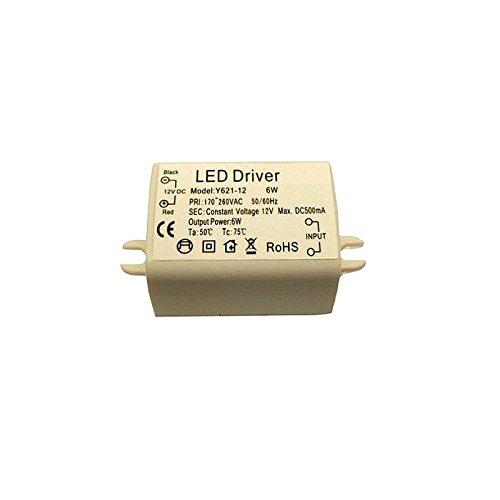 GiXa 6W LED Trafo / Transformator Treiber Netzteil DC 12V für SMD Strip G4 Lampe 6 W / 6 Watt