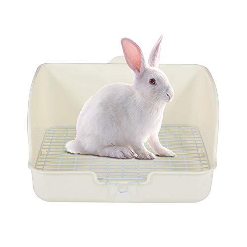 Fewao, lettiera per conigli, lettiera per animali domestici, per conigli, lettiera per WC e vasino, per piccoli animali, conigli, porcellini d'India, galesauro, furetto