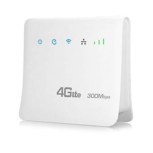 QHD Unlocked 300Mbps WiFi Routers 4G LTE Cpe Mobile Router with LAN...