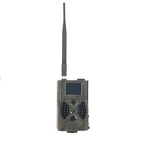 skwff Cámara de Caza Sistema de visión Nocturna por Infrarrojos cámara de vigilancia Forestal Apto para observación de Vida Silvestre