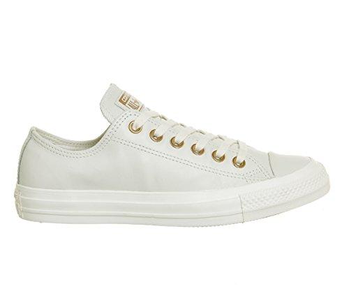 Converse Damen Chuck Taylor CTAS Ox Sneakers, Weiß (Egret/Egret/Egret 251), 40 EU