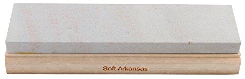unbekannt Piedra de afilar RH Pryda Soft Arkansas para adultos, grano 400-600, piedra 200 x 50 x 12 mm, multicolor, tamaño único
