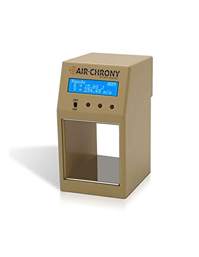 AIR CHRONY Shooting Chronograph MK3 - Premium Durable Build - Official Measuring Device of The World Hunter Field Target Organization - Sand