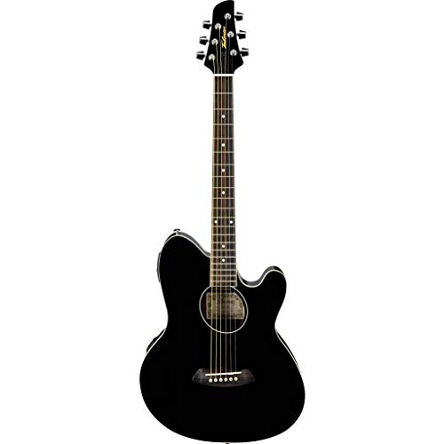 Ibanez Talman TCY10E black high gloss finish