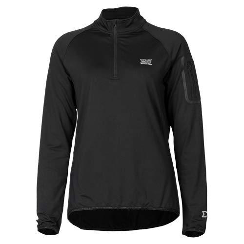 TAO Sportswear W S T-shirt à manches longues pour femme Noir W2007 XS noir