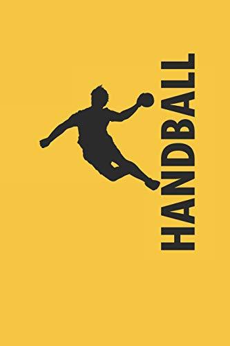 Handball: Notizbuch für Handball Spieler Punkteraster Journal 6x9