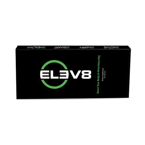 ELEV8 - BEpic Energy Pill with Cordyceps, Chaga, Gano, Rhodiola Rose and More (Pack of 30 Capsules)