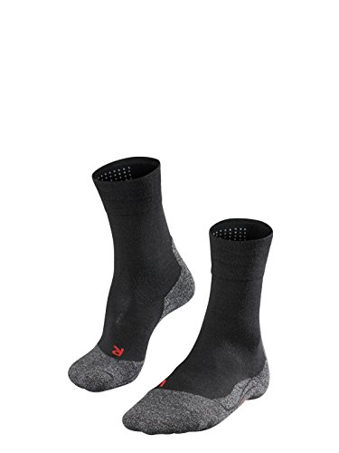 Falke Herren TK2 Sensitive M SO Wandersocken, Schwarz (Black-Mix 3010), 46-48