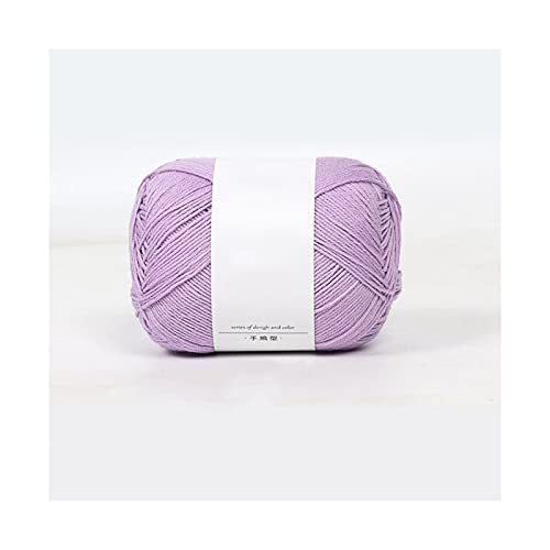 RXDZ Multi-Color de Lana Suave a Mano el Hilado del Hilo de algodón del Ganchillo del Hilo...