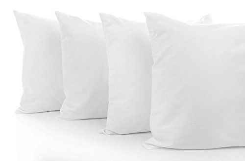 •ROHILinen• Value Range Polyester Hollowfibre Cushion Inner Pad, 30 x 30 Cm, Pack Of 2, 4, 6, 8, 10 &12 (2)