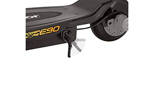 Razor Power Core E90, Patinete Eléctrico Scooter, Juventud Unisex, Negro, One Size