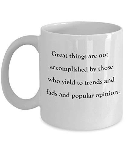 Tazas de café Grandes no se cumplen Regalos para el día de la madre Novedad Tazas divertidas Presente 11 oz