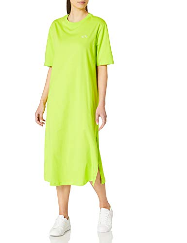 Armani Exchange Acid Lime T-Shirt Dress Camiseta Mujer