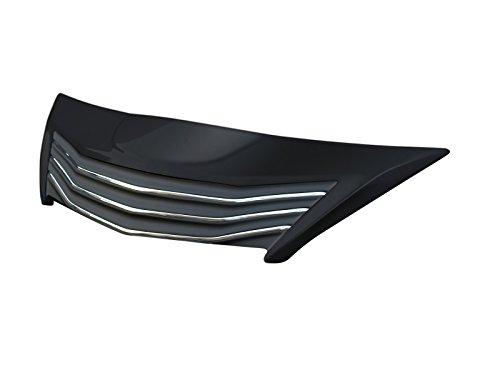 【ドレスアップ】 【G'S専用車検対応品】 AMS TERRA ZVW30 トヨタ プリウスG'S フロントグリル 2色塗分 純正ブラック(