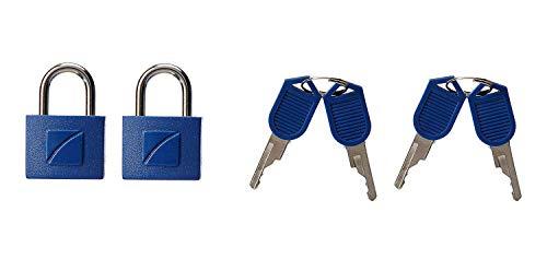 Travel Blue Identy Key-Lock Cadenas, 3 cm, Jaune (Lemon Yellow)