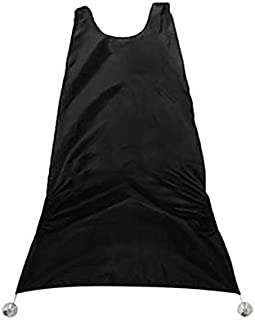water proof floral clothe black apron for beard trimming