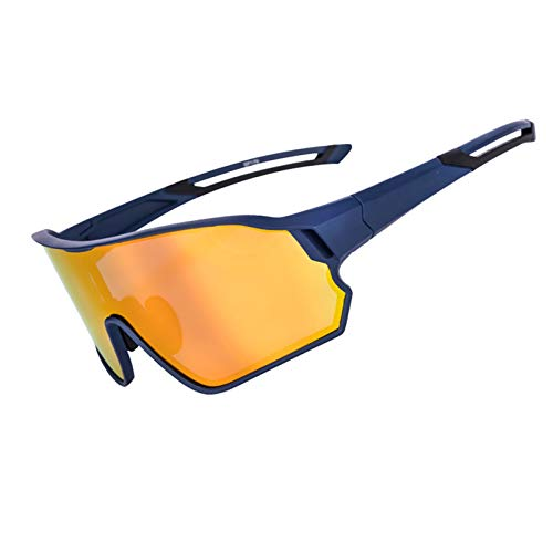 ZYQDRZ Gafas De Ciclismo De Montura Completa, Gafas De Sol Deportivas De Bicicleta A Prueba De Viento Polarizadas Que Cambian De Color, Utilizadas para Ciclismo, Béisbol, Golf,#5