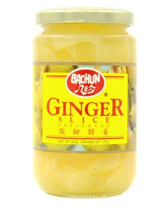 Cheap mail order sales NT# Gifts Bachun Preserved Sliced Ginger 340g to eat with -Ready sushi