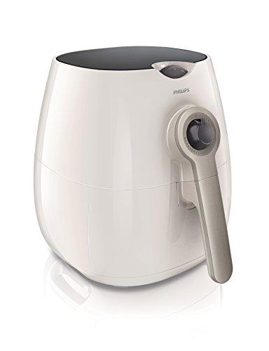 Philips Fritteuse mit Rapid Air Technologie für gesundes Kochen, Backen und Grillen, Kunststoff, weiß, HD9220/50
