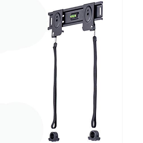 Amazon Basics - Soporte de pared plano de bajo perfil para televisión, 58,4 a 127 cm (23-50'), gama Essentials