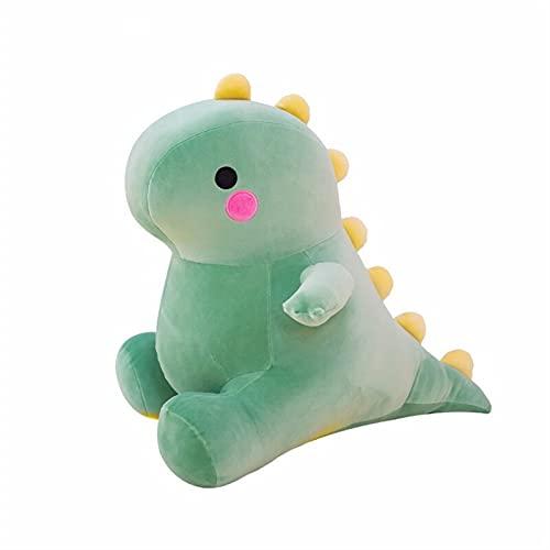 YSYSPJM 25-50 cm Suave Encantador de Peluche de Peluche de Peluche para niños bebé Abrazo muñeca Sleep Almohada decoración del hogar (Color : Green, Height : 25cm)