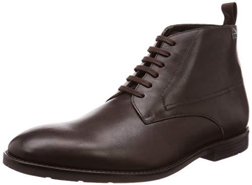 Clarks Herren Ronnie Up GTX Klassische Stiefel, Braun (Dark Brown Lea Dark Brown Lea), 43 EU