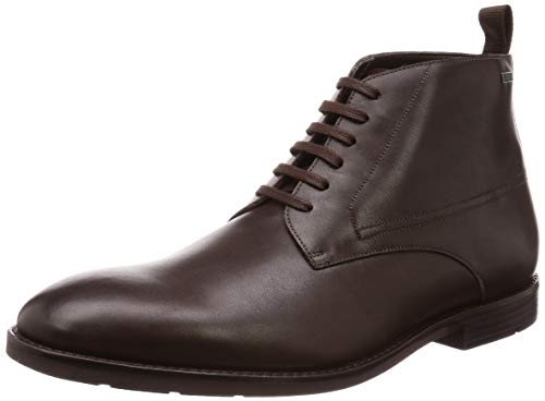 Clarks Herren Ronnie Up GTX Klassische Stiefel, Braun (Dark Brown Lea Dark Brown Lea), 47 EU