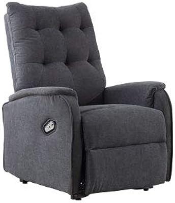 Sillón relax reclinable modelo Home tejido bali gris marengo ...
