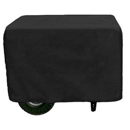 Byrhgood Gartenmöbel gesetzt Outdoor Mobile Kleingeneratoren Wetter Baffle (Color : Black, Size : 80X60X60CM)
