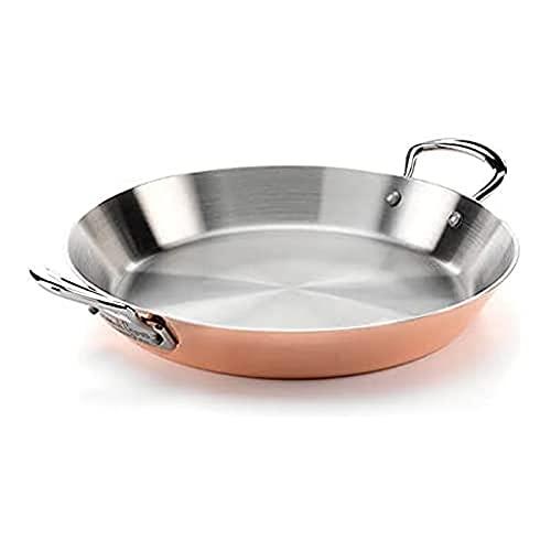 Samuel Groves C4P0136RH - Paella de inducción de cobre (26 cm), acero inoxidable