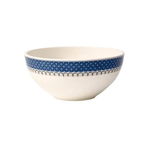 Villeroy & Boch Casale Blu Plat creux, 24 cm, Porcelaine Premium, Blanc/Bleu