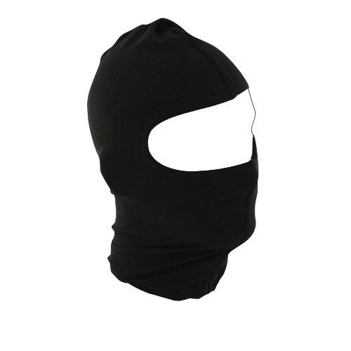 Zanheadgear Black Nylon Balaclava - Cold Weather Face Protection
