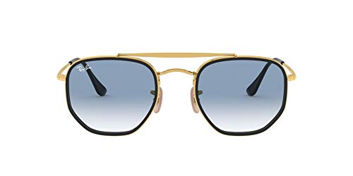 Ray-Ban 0RB3648M Occhiali da Sole, Marrone (Gold), 52.0 Unisex-Adulto
