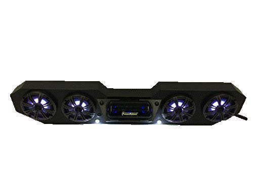 Ranger XP RGB Stereo Radio with BT Capable Deck