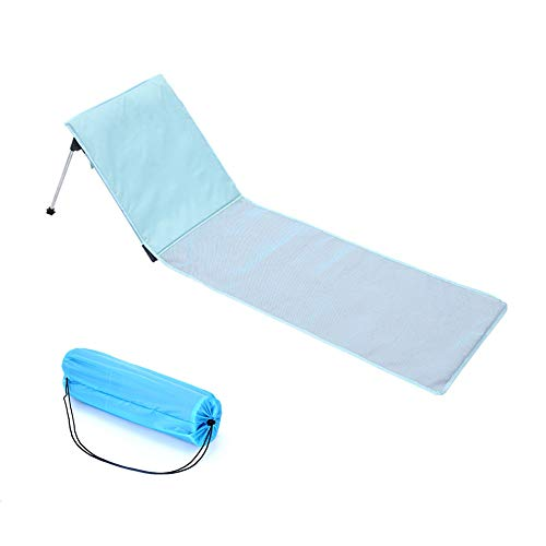 Beach Vacation Comfortabele Folding Zonnestoel Chair Outdoor Camping Bed Portable Aluminium eenpersoonsbed met Cotton Cushion