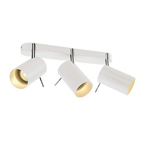 SLV, Lampada da parete o soffitto a 3 faretti, GU10