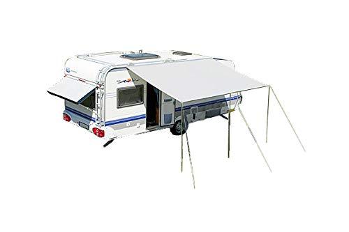 dwt Sonnendach Flora Gr. 1-6 grau o. blau trailtex Wohnwagen Bug-oder Hecksegel Sonnensegel Busse Caravan Ultraleicht UV Schutz Camping, Größenauswahl:Gr. 2 grau