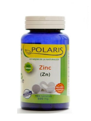 Polaris zink 50 mg 150 tabletten - 1 stuk